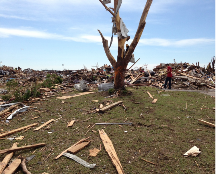 Tornado Damage in Moore, Oklahoma