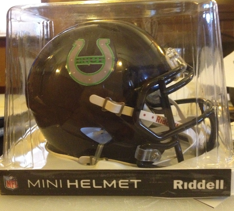 Lucky Enuf Mini Helmet